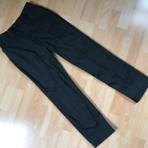 LEE All Day Straight Leg Dark Gray Pants
